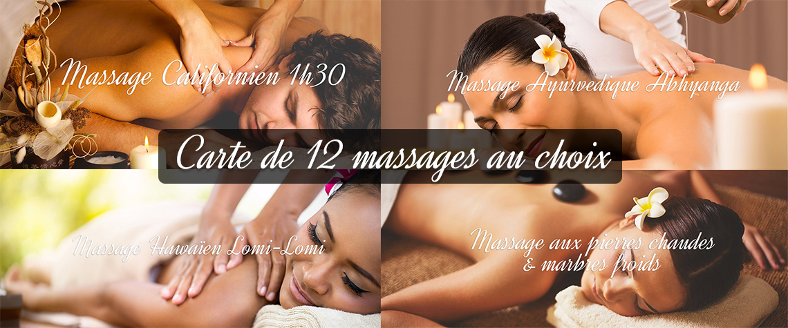 abonnement 12 massages