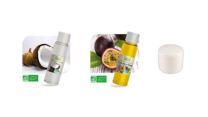 baume de massage bio coco/passion comestible