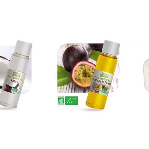 baume de massage bio coco/passion comestible