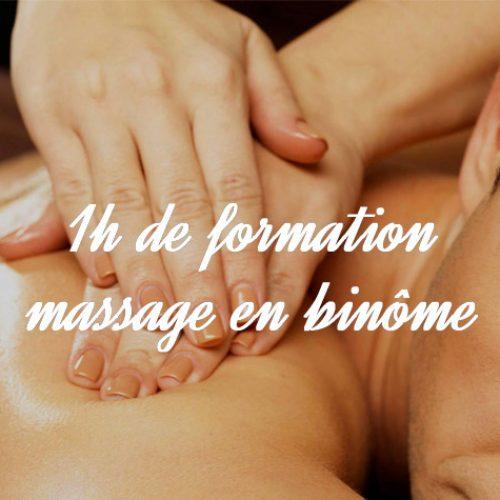 formation massage en duo Munster