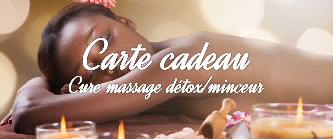 cure massage détox minceur