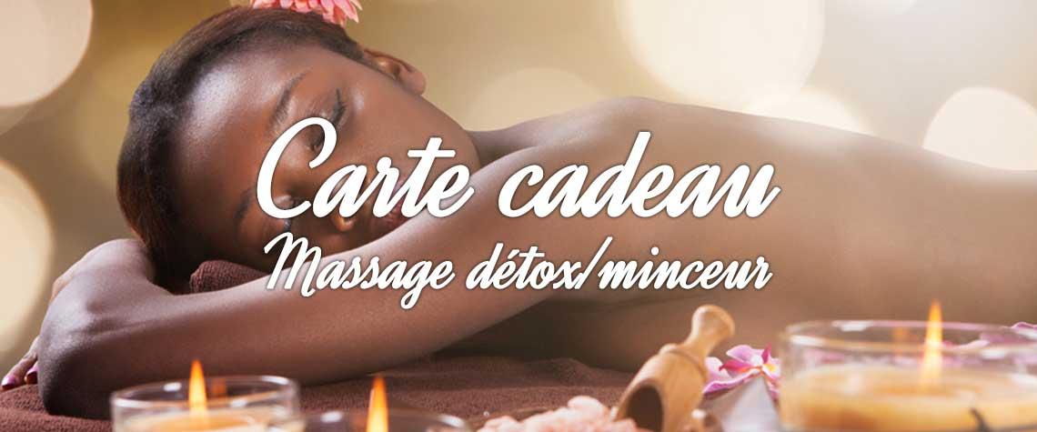 massage détox minceur