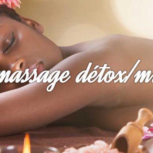 Cure de massage détox minceur